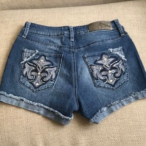 NYC HYDRAULIC Denim Jean Nolita Shorts Size 2